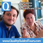 cartagena tapas tour, tapas tour, how to visit cartagena spain, private tour guides in cartagena